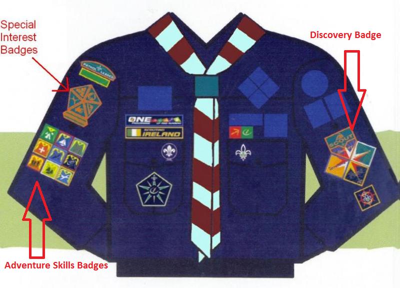 National+Outdoor+Badge+Boy+Scouts+Of+America Badgework | Brackenstown ...