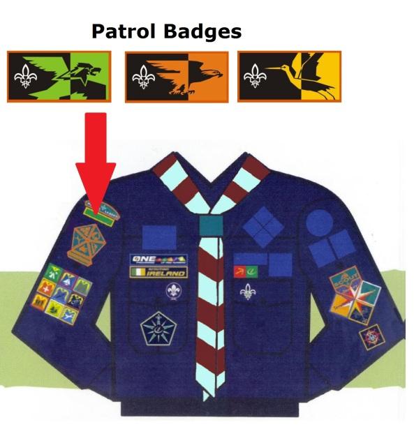 Patrol Badges - Brackenstown Scouts